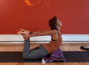 Path to Bow pose