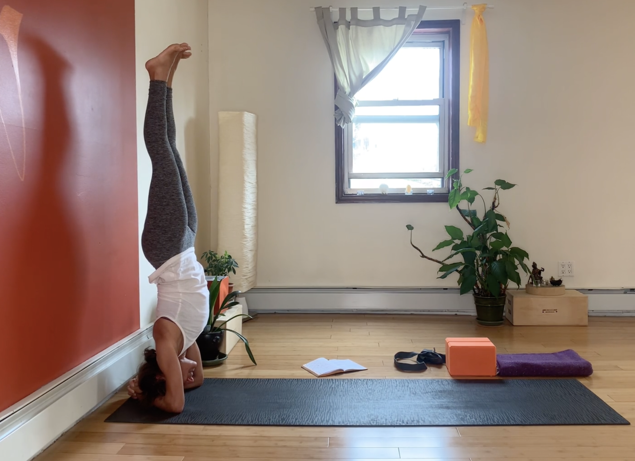 Path to Headstand video